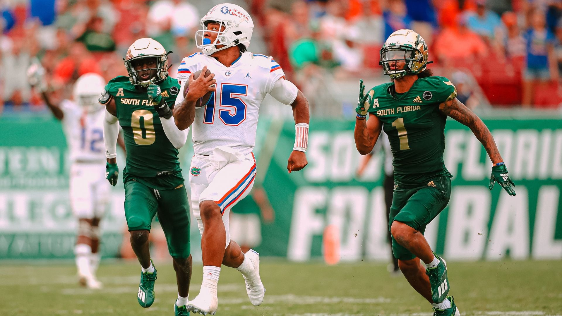 Richardson's superb performance leads UF in rout of USF