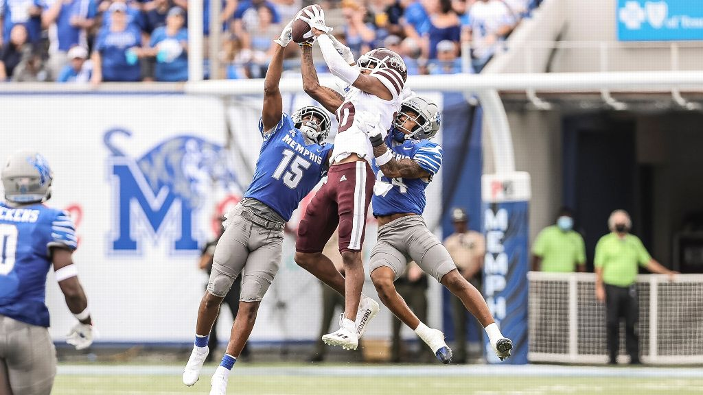 MS State's comeback attempt fails in loss to Memphis