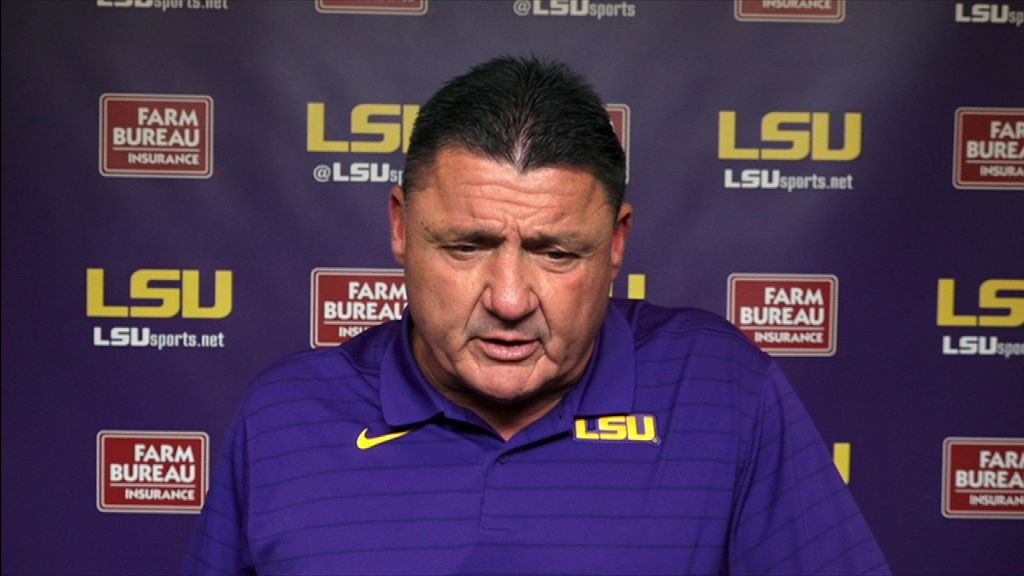 Orgeron details areas of improvement for QB Johnson