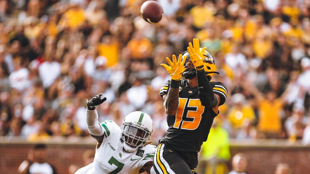 Strong first half leads Missouri past North Texas