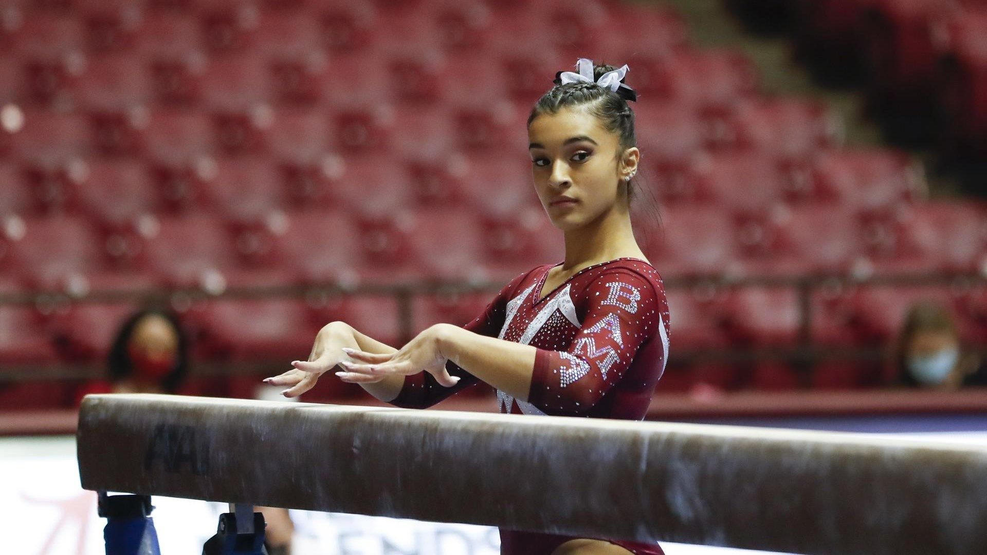 Top SEC gymnast Blanco credits her family for success
