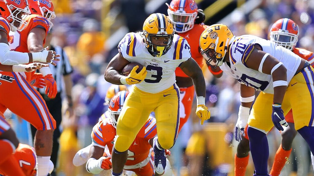Davis-Price carries LSU past No. 20 UF with record day
