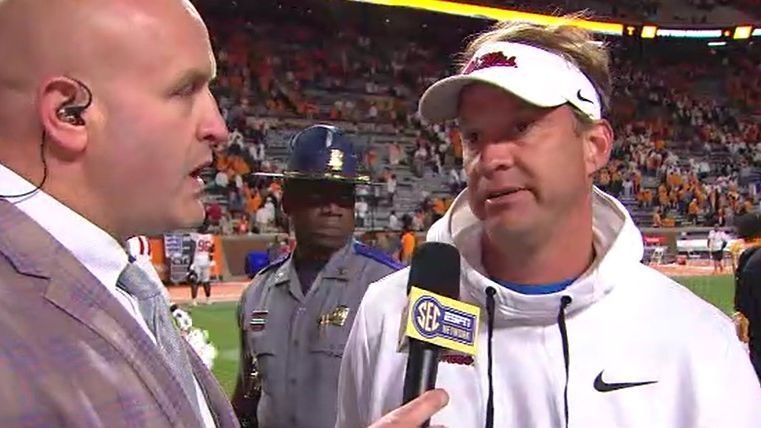Kiffin says No. 13 Ole Miss defense rose to occasion