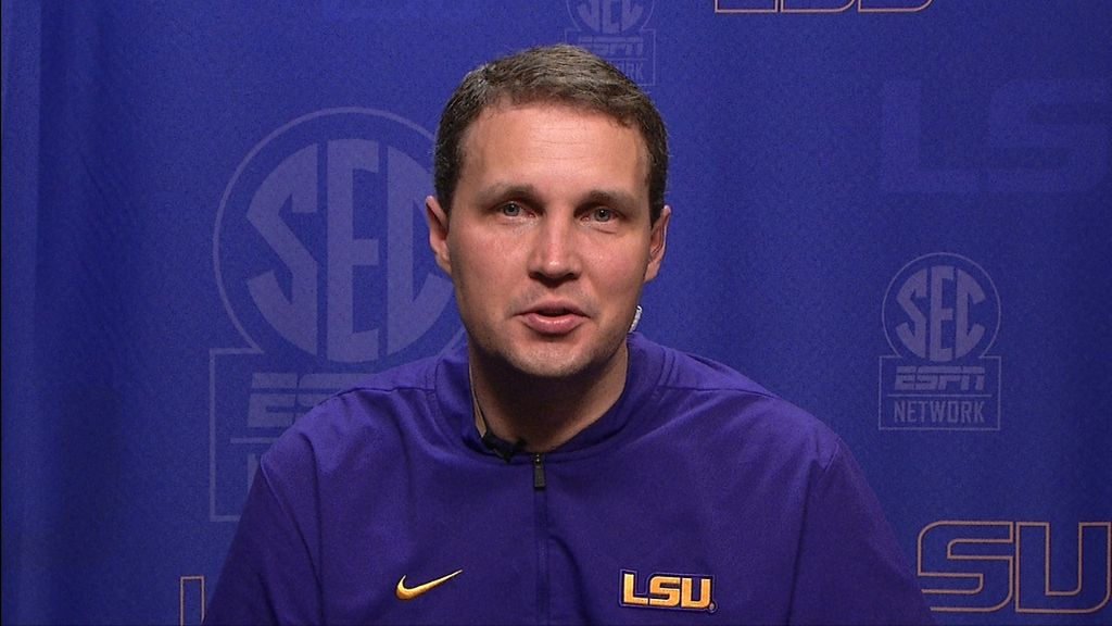 Wade discusses LSU's reshuffled roster entering 2021