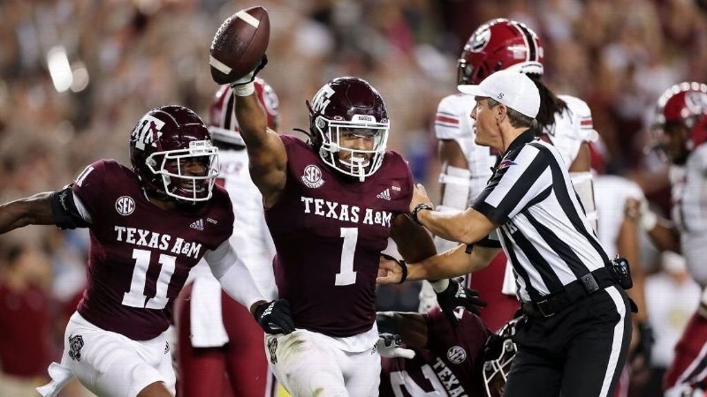 Aggies put up 477 total yards in win over Gamecocks