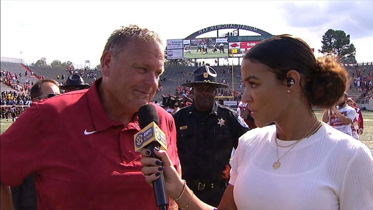 Pittman happy to get Hogs' second team some work