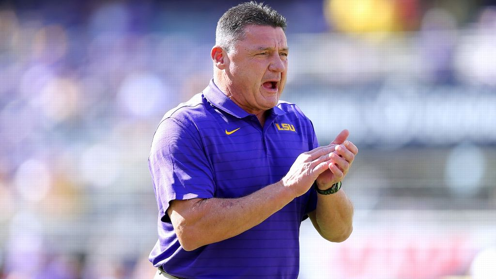 Orgeron has 'wholehearted' support for LSU's future