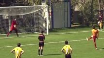 Galatasaray youth player deliberately misses penalty