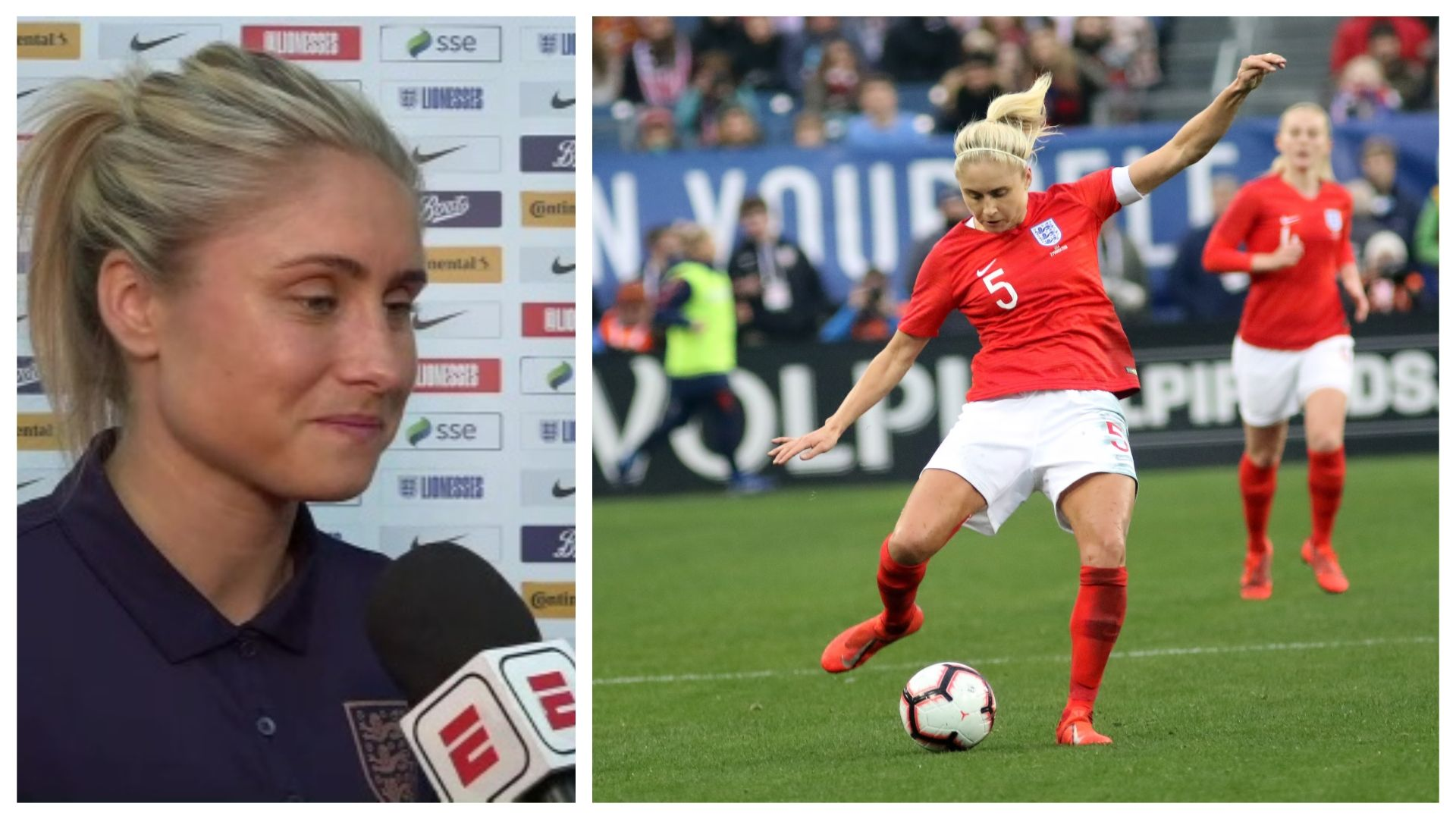 England captain Houghton 'excited' for her 3rd World Cup