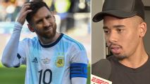 Gabriel Jesus criticises Messi's Copa America comments
