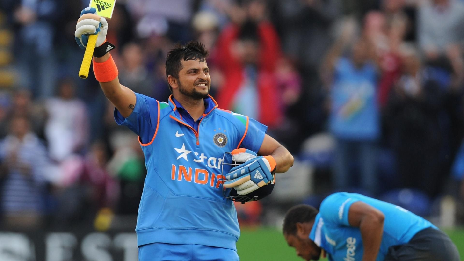Raina ravages England with dazzling 100