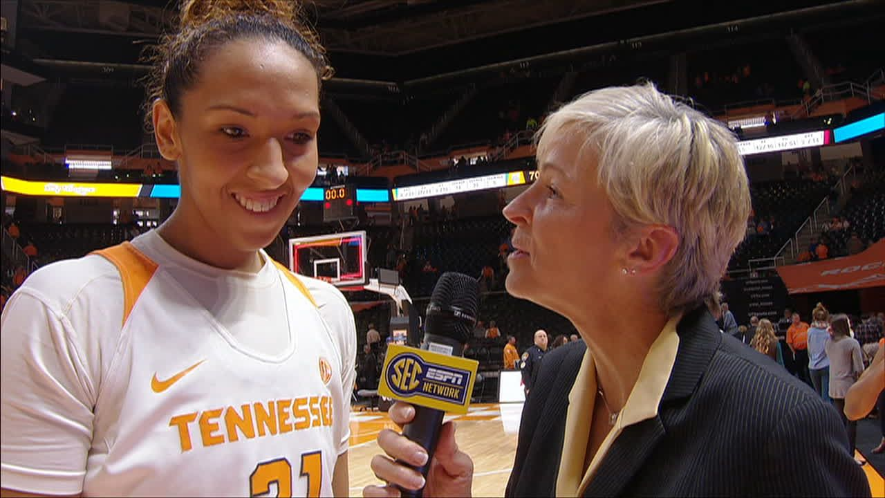Mercedes Russell Postgame Interview