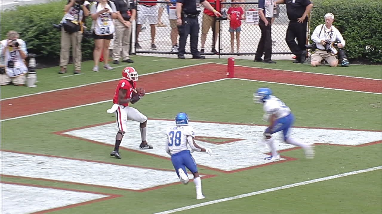 Fromm Connects With Holloman For Georgia Td