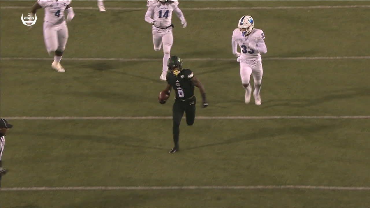 Rourke finds Buckner for 60-yard TD