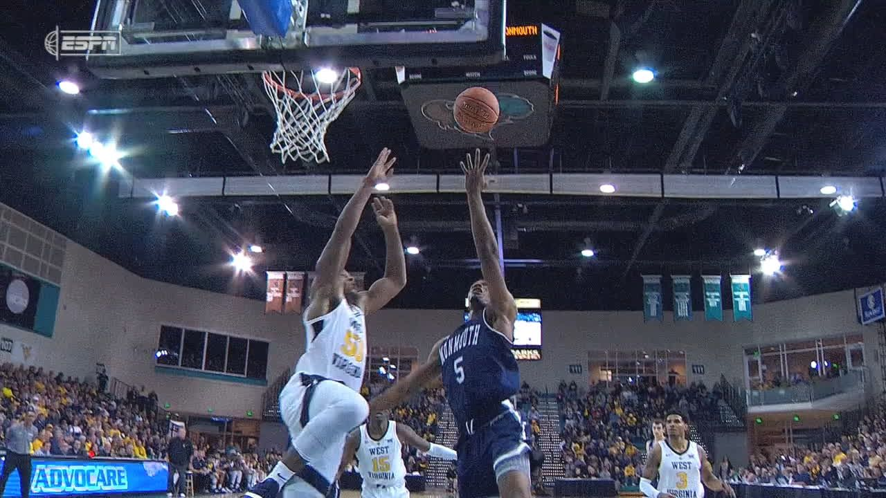 West Virginia beats Monmouth 71-53