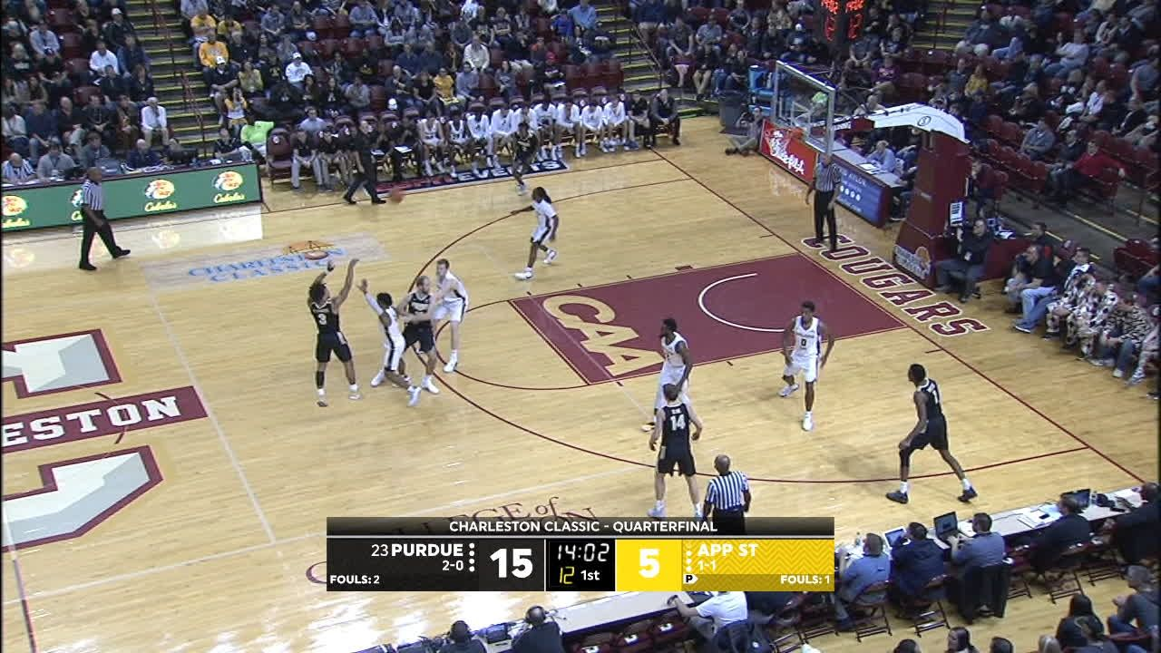 Edwards hits deep 3 for Purdue