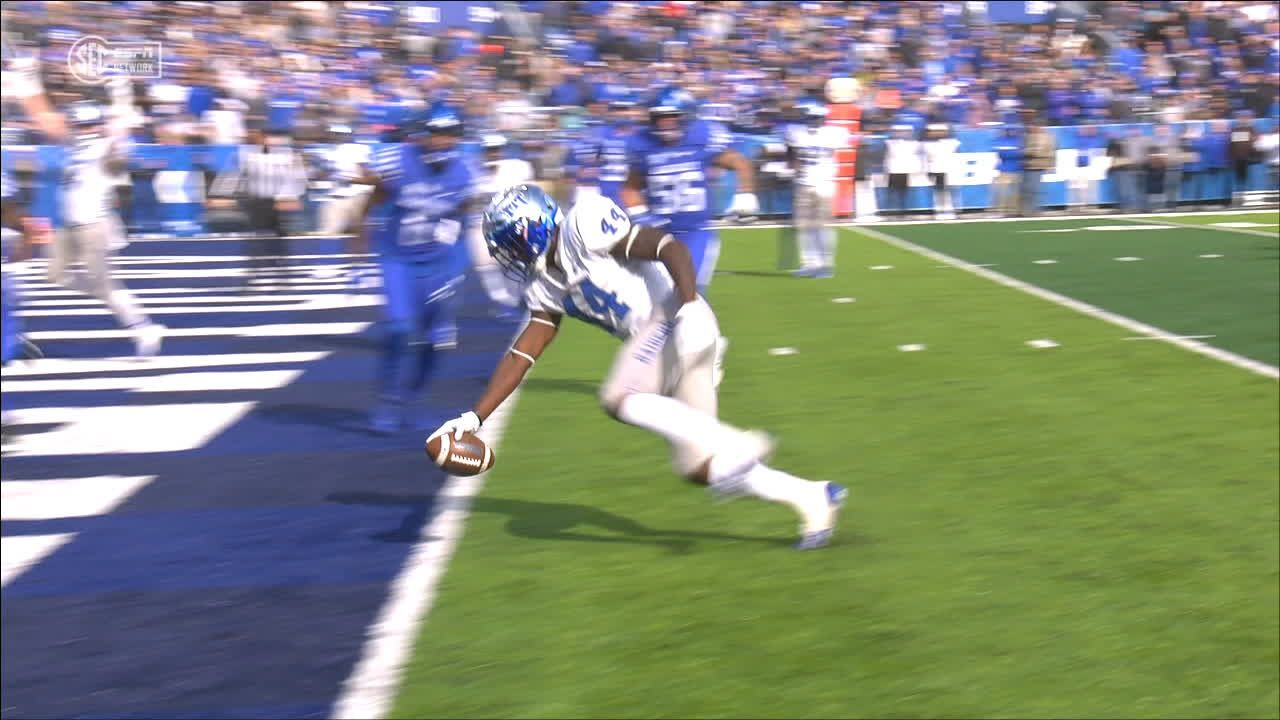 Middle Tennessee hauls in 6-yard TD