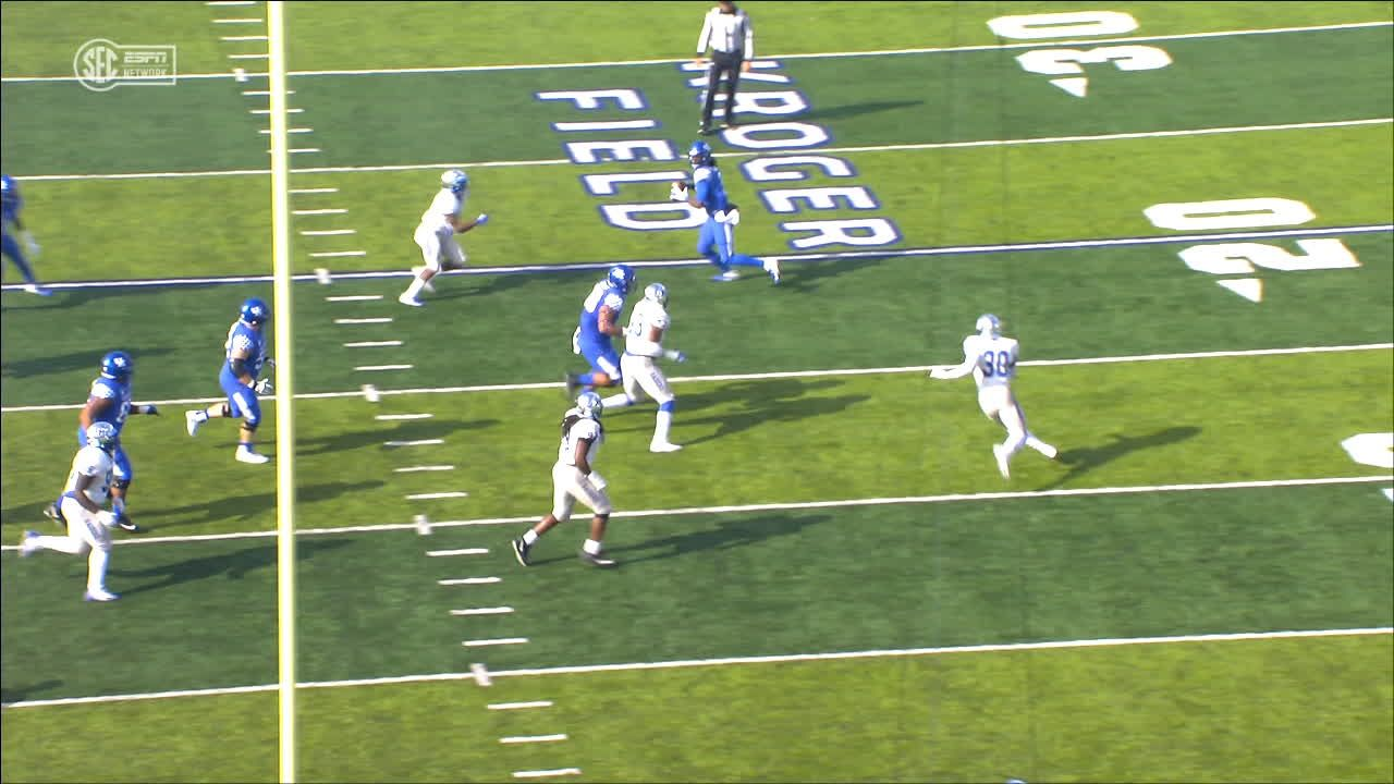 Terry Wilson pass complete to C.J. Conrad for 11 yds for a TD (Miles Butler KICK)