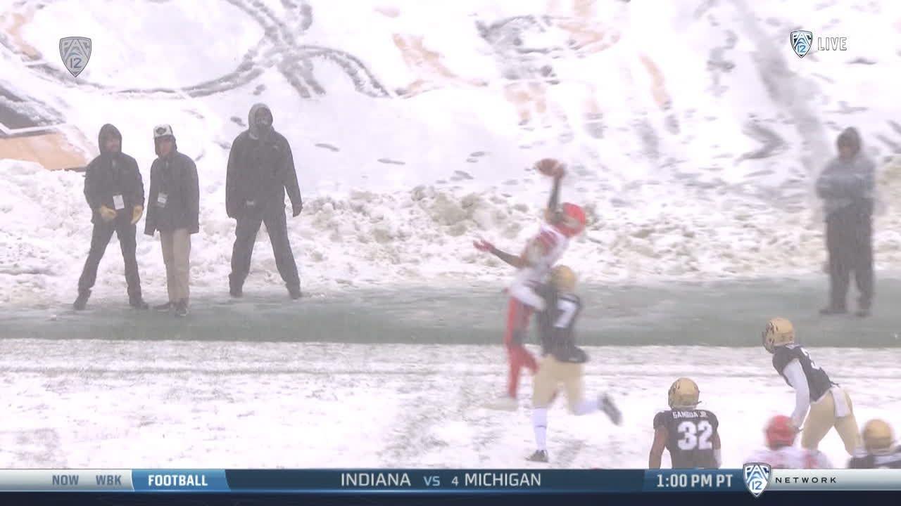 No. 21 Utah handles slow start, snow and Colorado 30-7