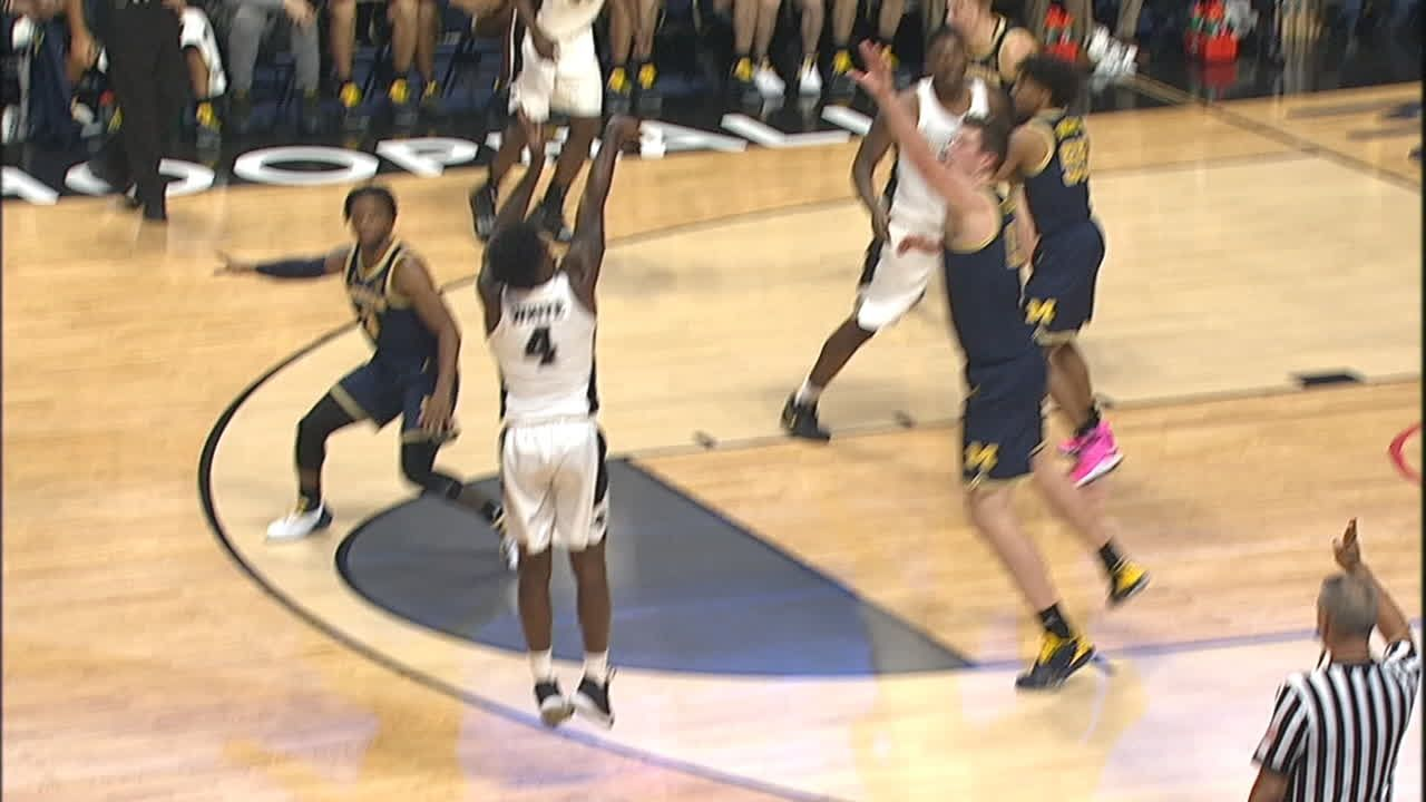 Providence block leads to 3