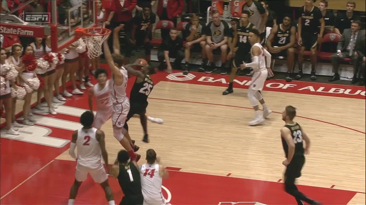 Bey helps rally Colorado past New Mexico 78-75