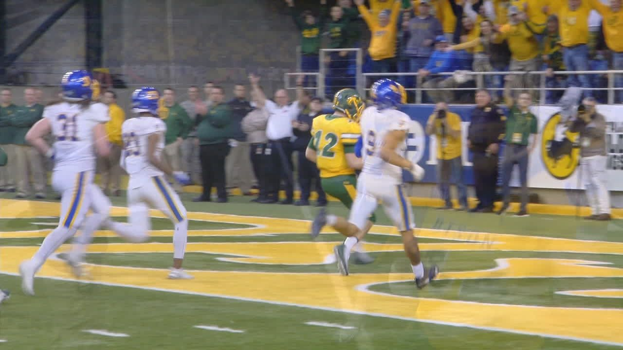 Stick leads NDSU over Jackrabbits, into FCS title game