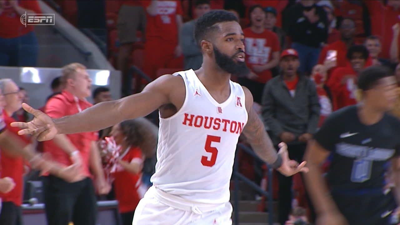 Davis scores 17 points, No. 24 Houston beats Saint Louis