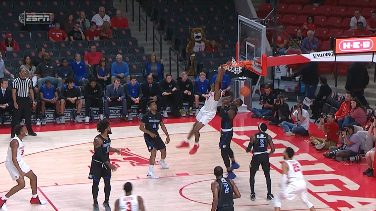 Gresham throws it down for Houston