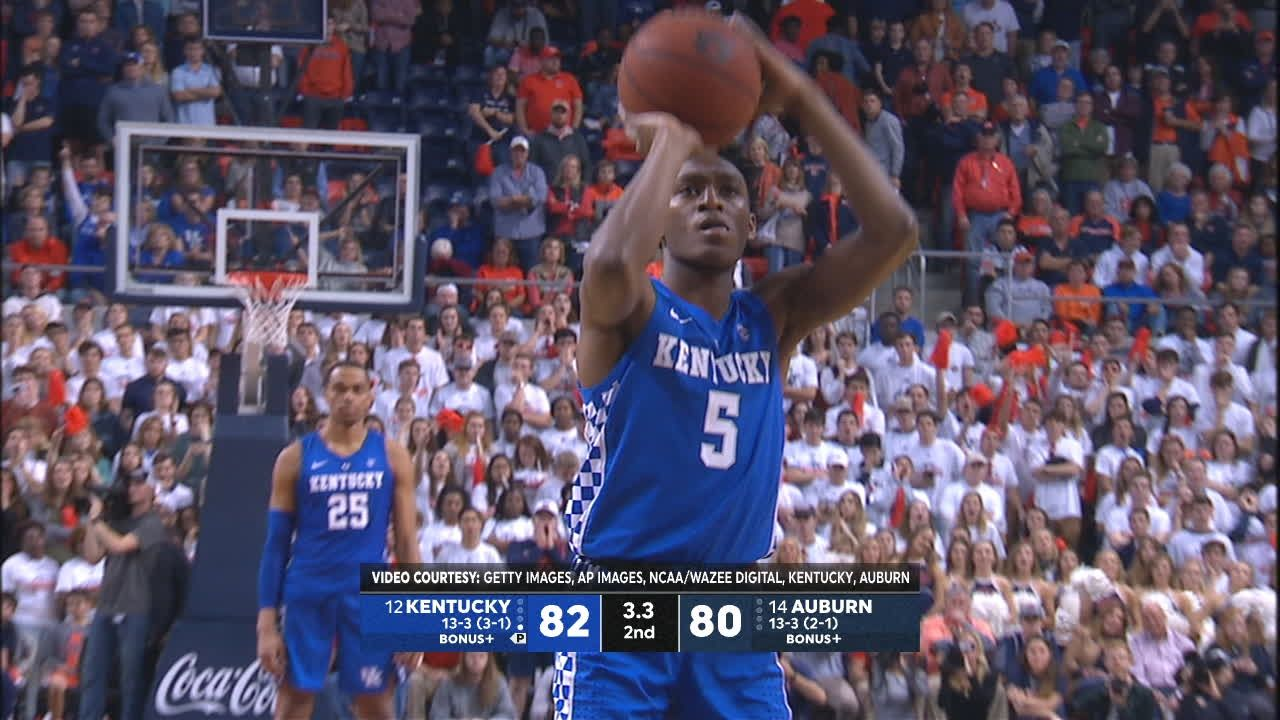 Auburn misses game-winning long distance shot