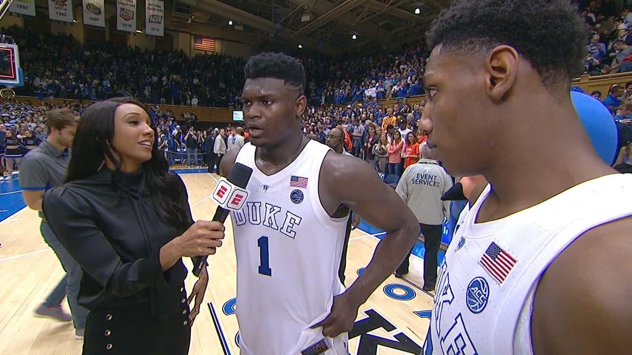 Zion dedicates win vs. Virginia to injured Tre Jones