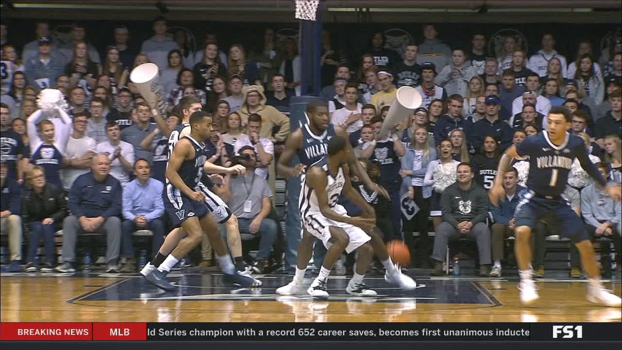 Butler's Baldwin skips back-door pass to David for lay-in