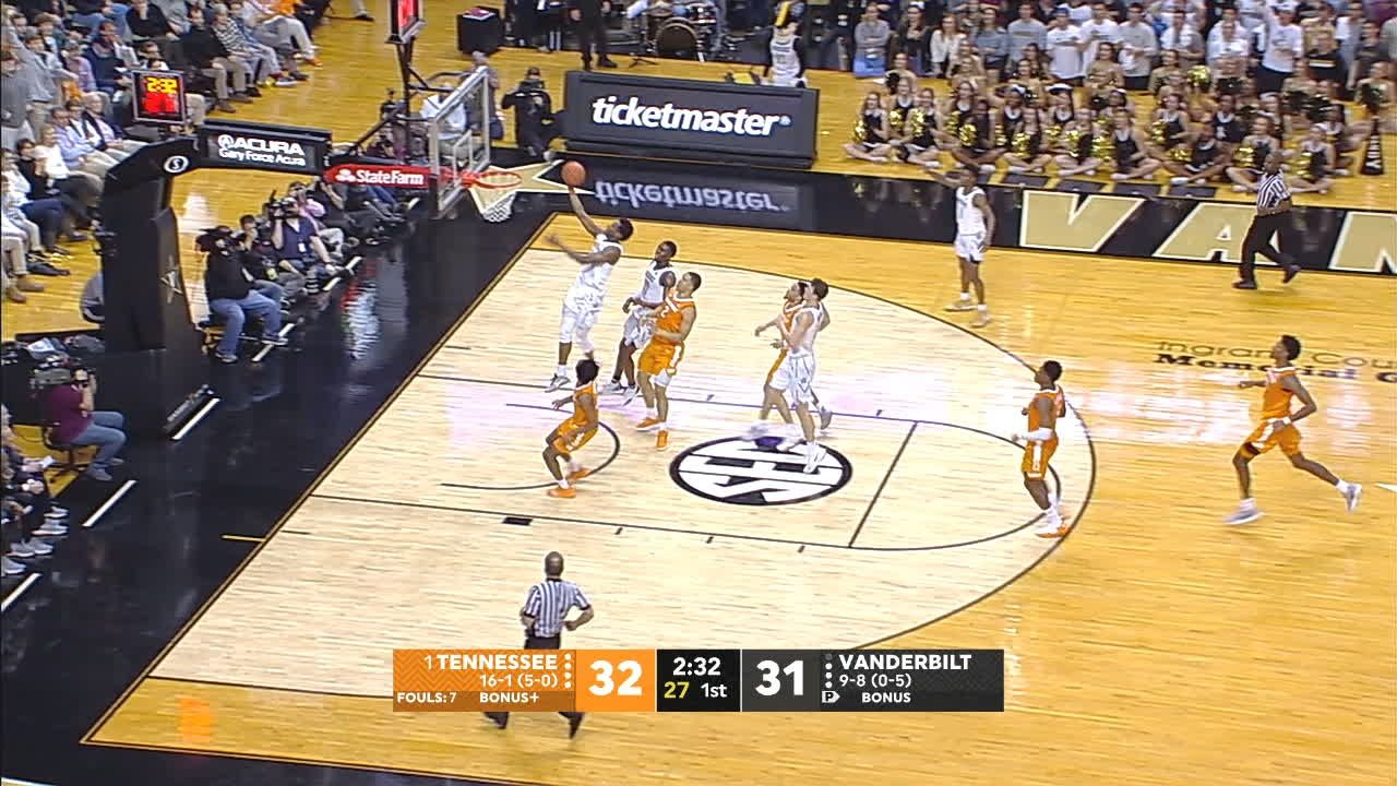 Nesmith gives Vandy first lead of game