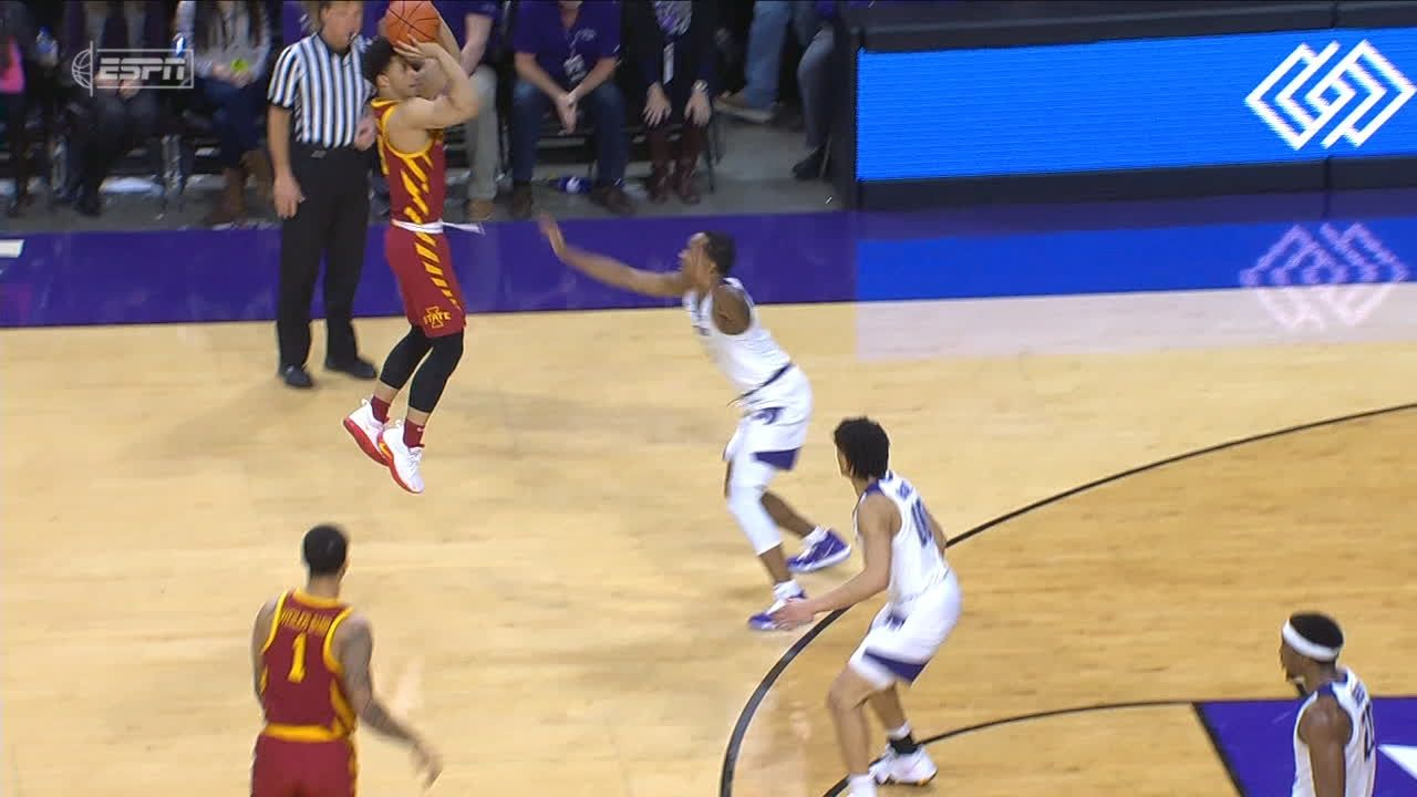 Wigginton sinks deep contested pull-up 3