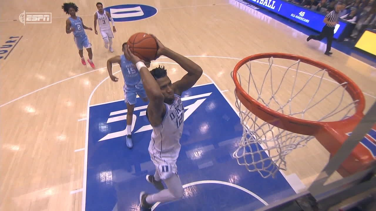 DeLaurier dunks it twice in succession