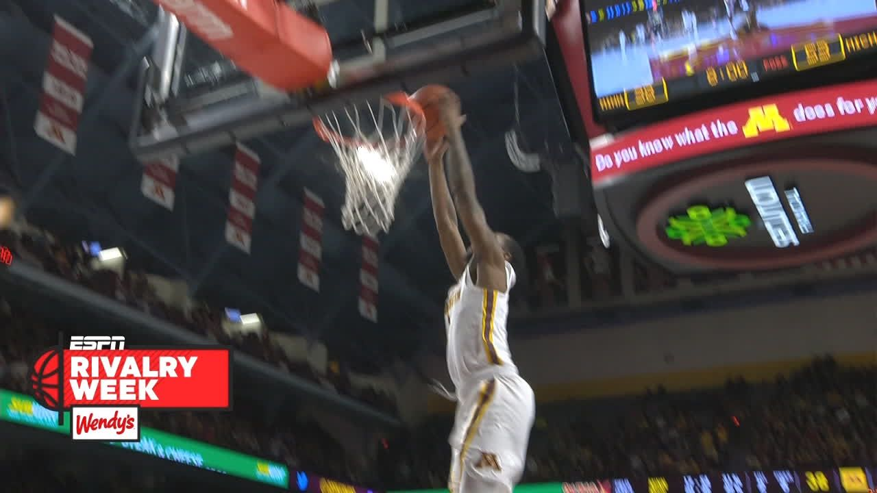 McBrayer finishes fast break with two-handed slam