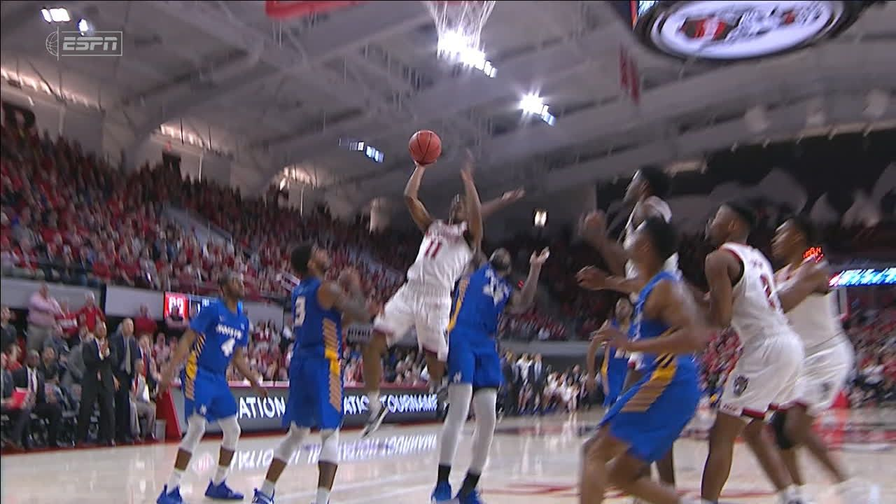 Johnson seals NC State win with and-1