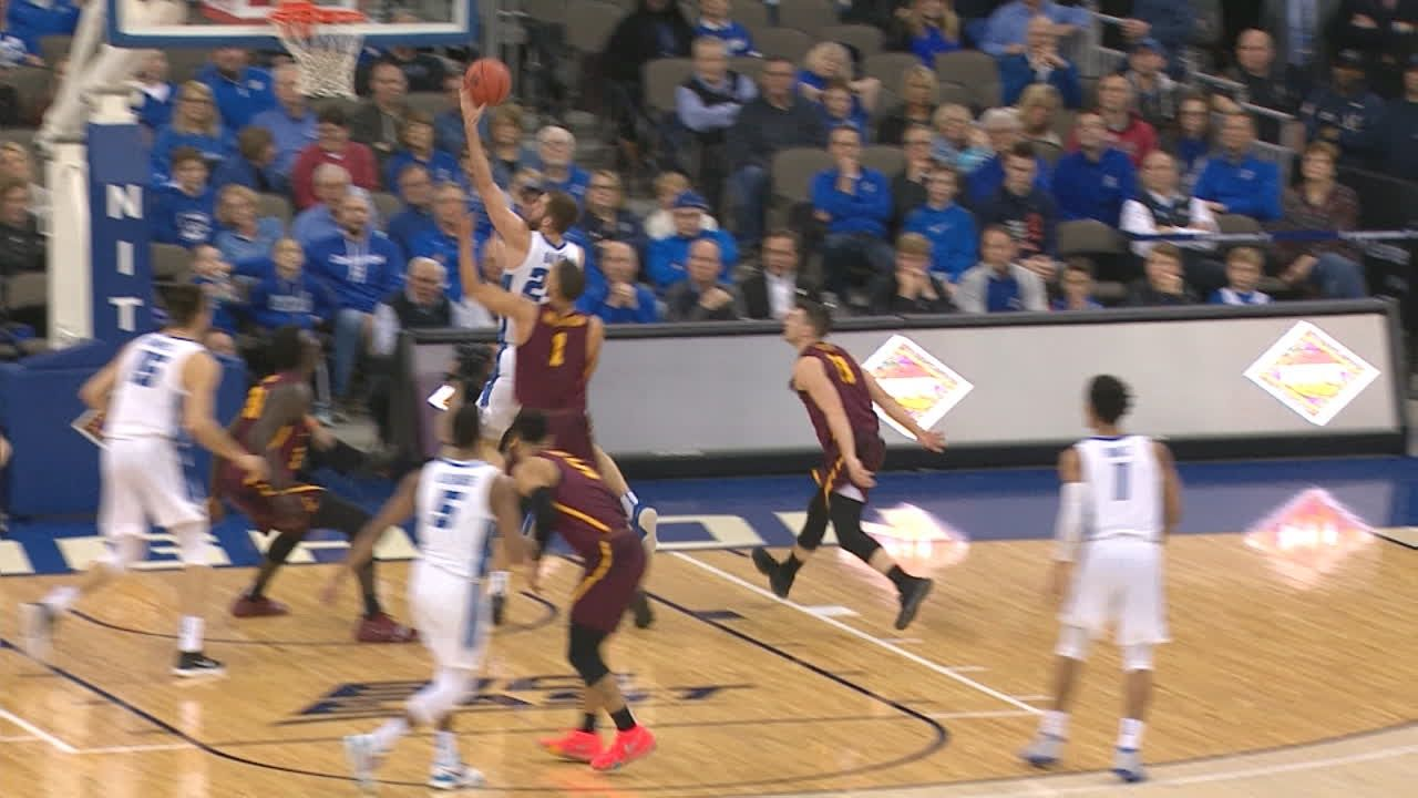 Krampelj leads Creighton over Loyola of Chicago 70-61 in NIT