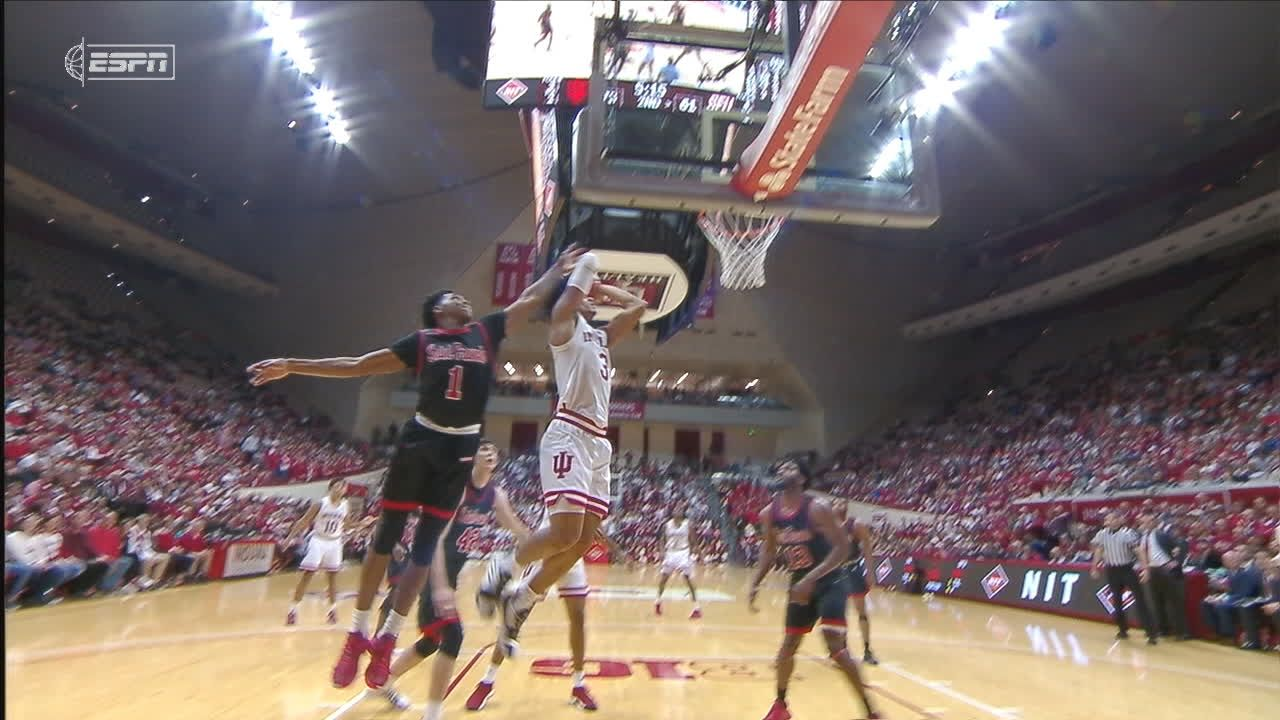 Morgan lifts Indiana over St. Francis (Pa.) 89-72 in NIT