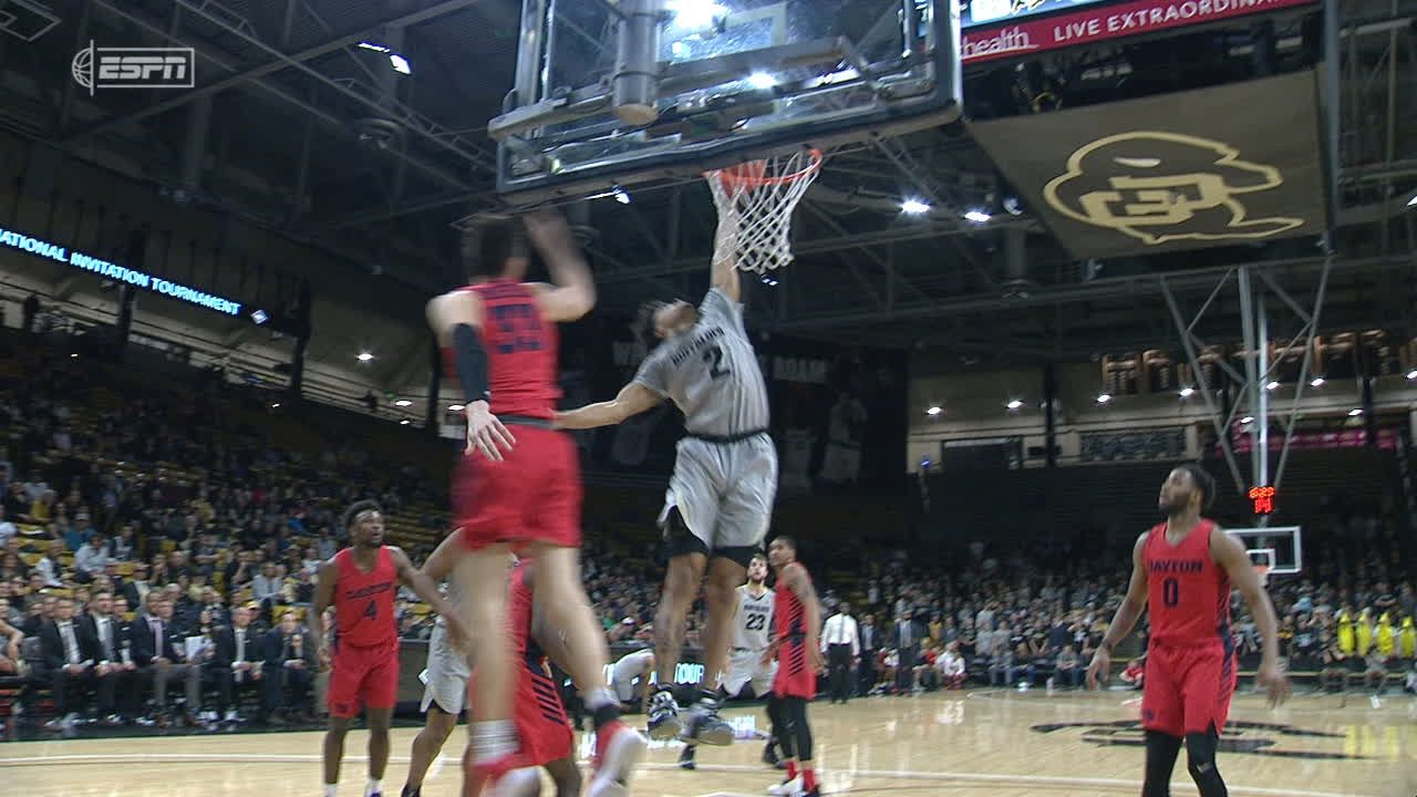 Bey carries Colorado past Dayton 78-73 in NIT