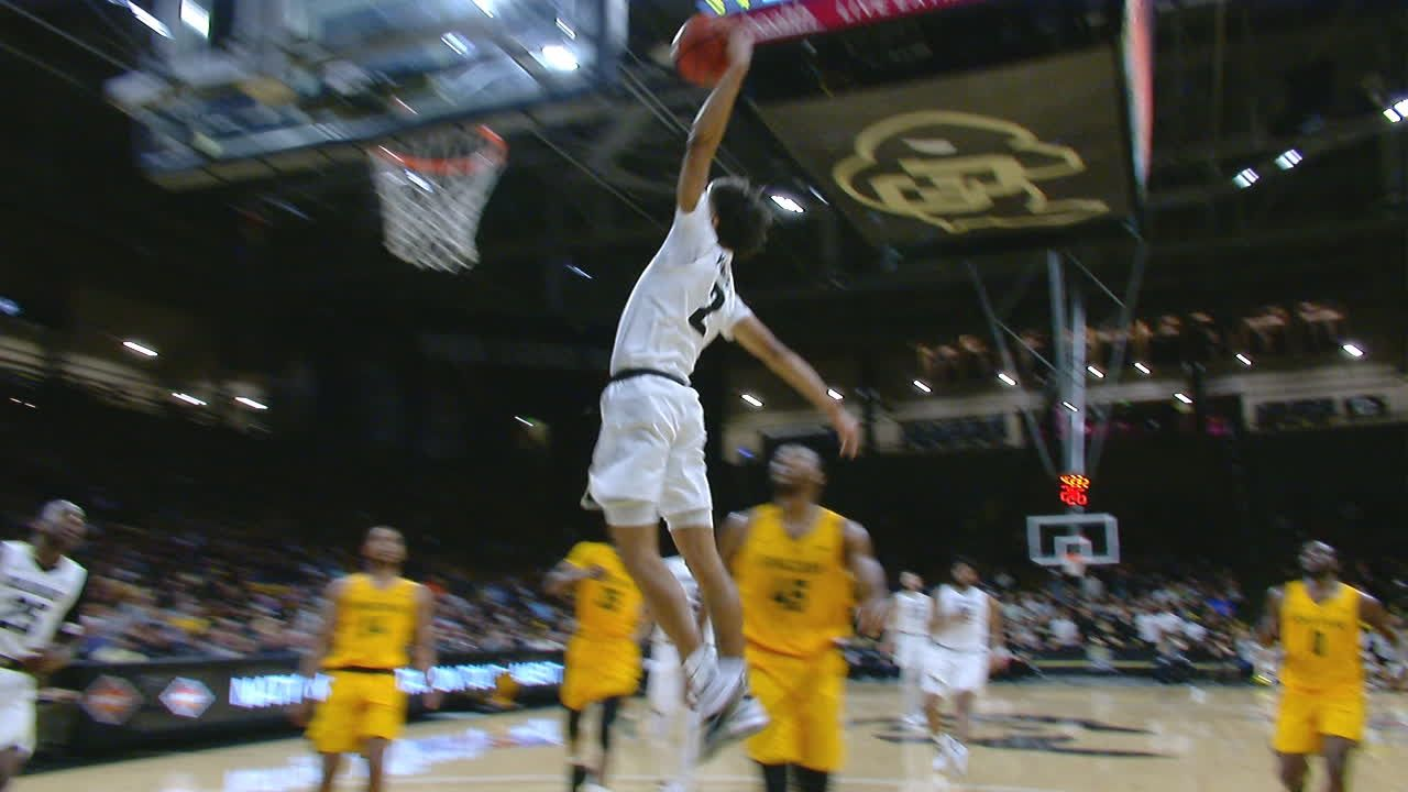 Battey leads Colorado over Norfolk State 76-60 in NIT