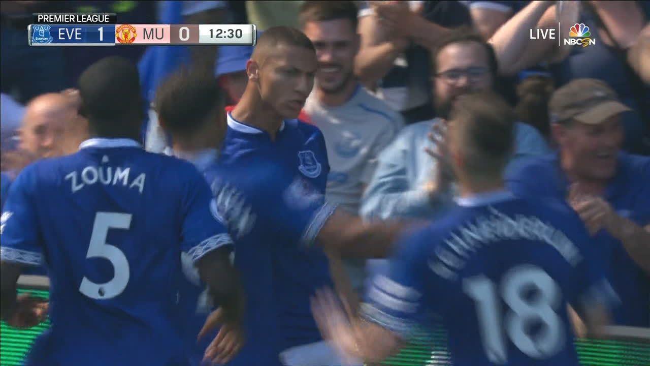 Golazo de tijera de Richarlison madruga al United