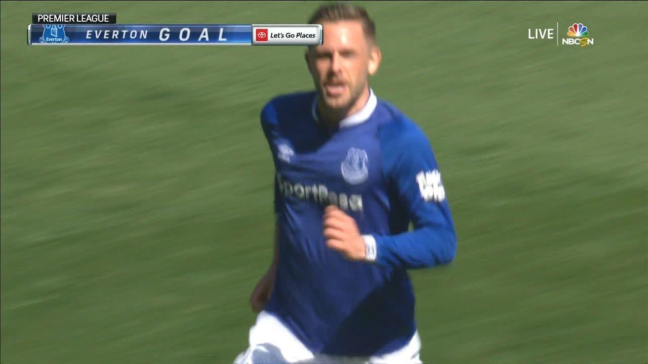 A contragolpe, Sigurdsson completa un magistral gol colectivo