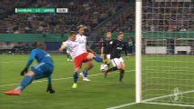 Autogol: Vasilije, jugador del Hamburg le da la ventaja al Leipzig