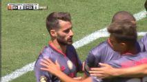 ¡Gol de Benfica! Rafa Silva puso el 2-0 ante Chivas