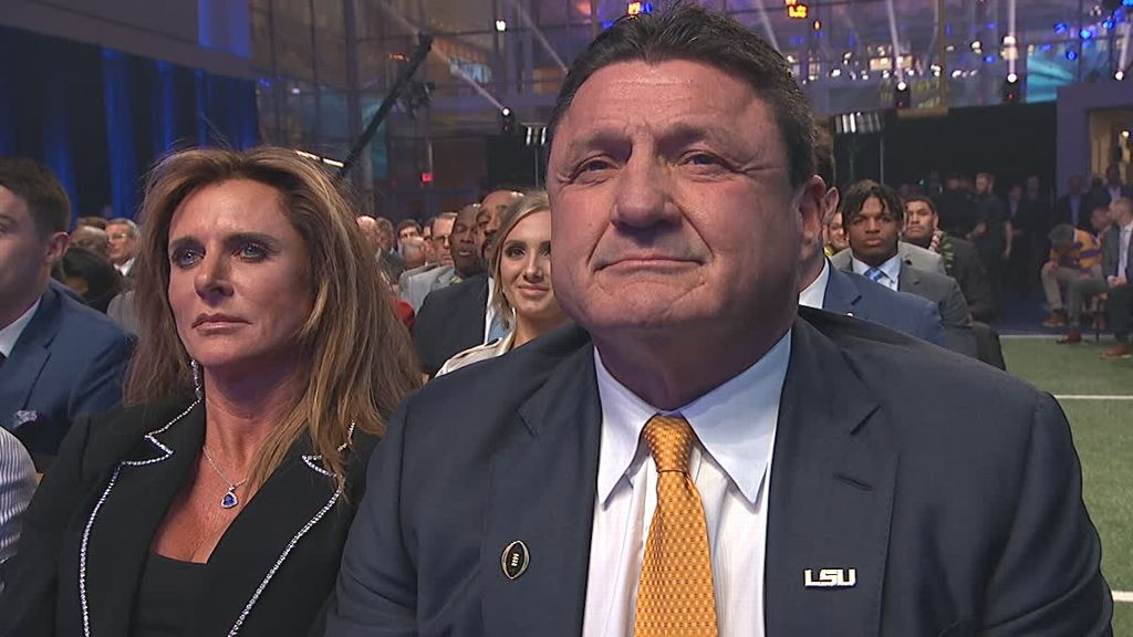 Orgeron wins Coach of the Year Award