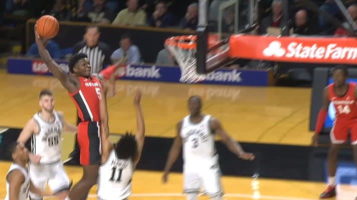 Edwards captures epic poster on ridiculous slam