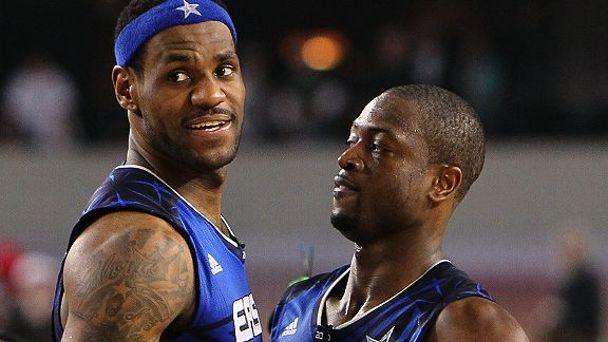 Dwyane Wade & LeBron James