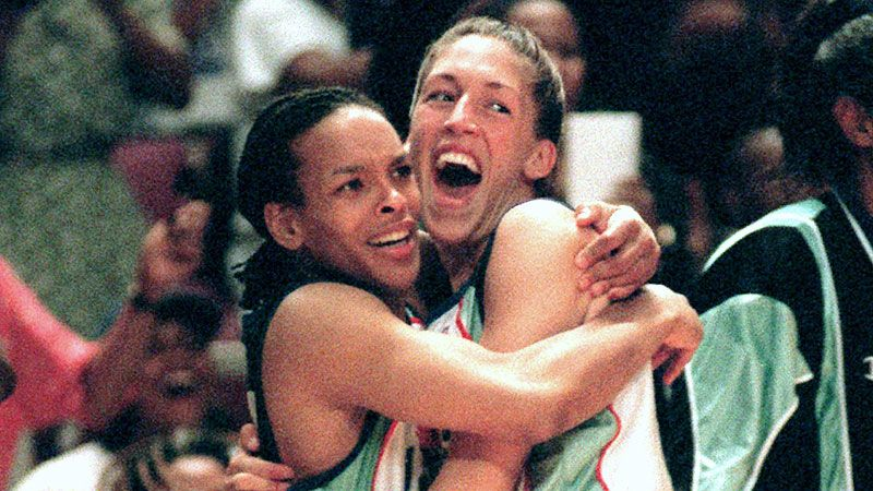 Image result for Rebecca Lobo and Teresa Weatherspoon
