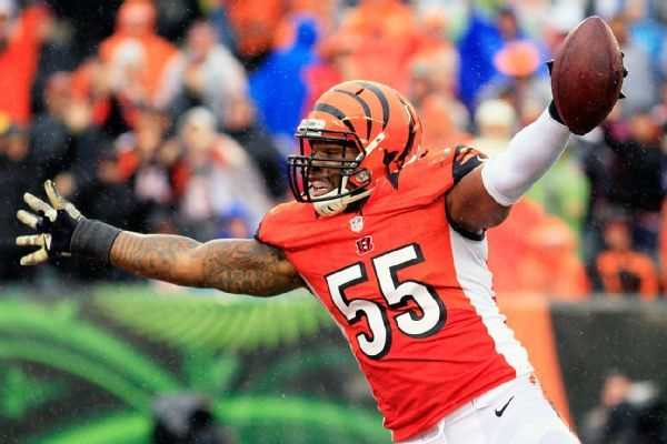 Burfict joins Raiders, says AB pairing 'all positive'