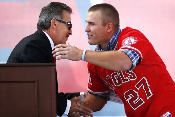 Angels owner Arte Moreno: New Mike Trout deal has been subject of internal talks